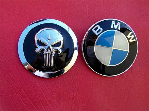 Bmw Logo Replacement by Punisher Suit Bmw Replacement Car Emblem Badge Bmw