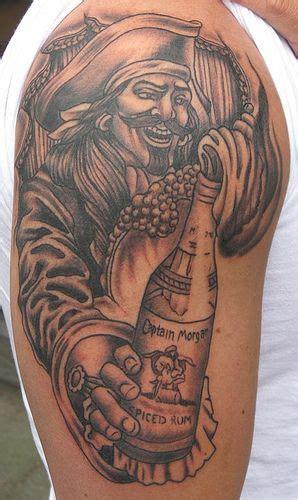 tattoos  body art  captain morgan  pinterest