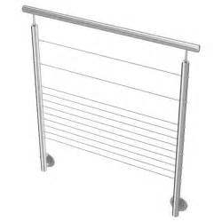 Hauteur Re Escalier Norme by Balustrade Int 233 Rieure 11 Cables Inox Inoxdesign
