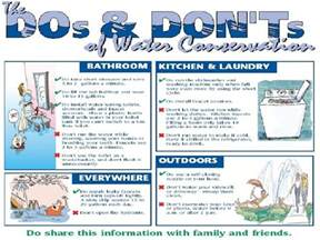 How to Save Water Conservation