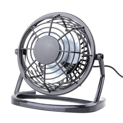 ultra quiet pc fans portable mini usb black ultra quiet desk fan