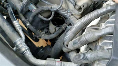 gmc terrain oil change  oil filter change youtube