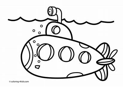 Transport Water Coloring Pages