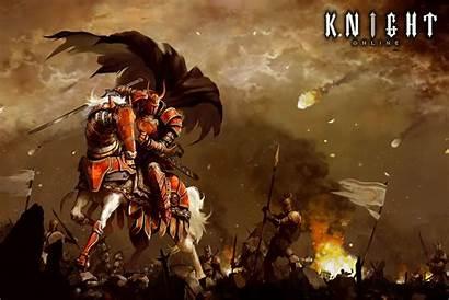 Knight Warrior Rpg Fantasy Armor Mmo Poster