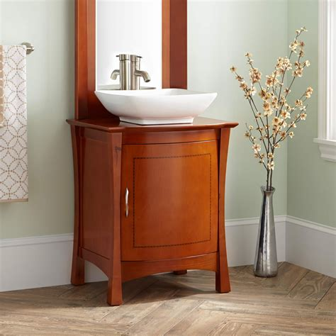 frisco vessel sink vanity mirror bathroom