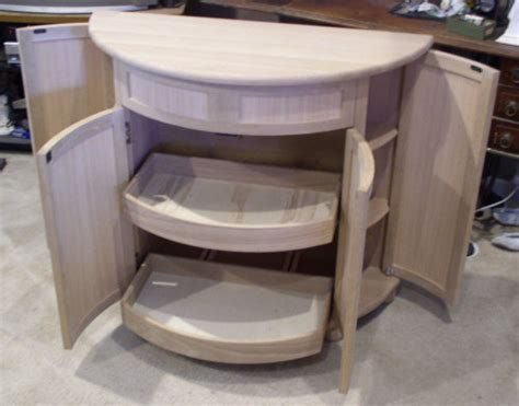 Curved Cupboard Doors - curved cabinet by dhg lumberjocks woodworking