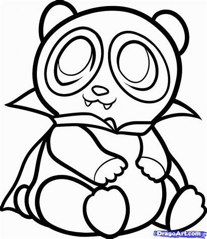 Coloring Panda Pages Clipart Popular