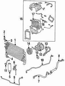 Genuine Oem Condenser  Compressor  U0026 Lines Parts For 1995