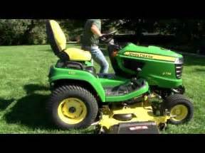 how to remove and attach a lawn mower deck john deere