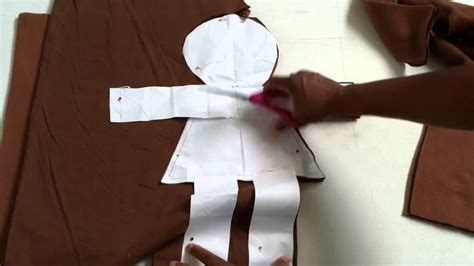 how to make a with cloth learn how to make a cloth doll youtube