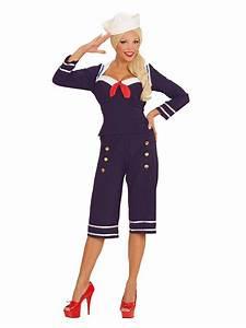 50er Jahre Accessoires : 50er jahre pin up matrosin damenkost m sailor girl blau rot weiss g nstige faschings kost me ~ Sanjose-hotels-ca.com Haus und Dekorationen