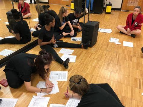 dance students floor collin dance day wingspan