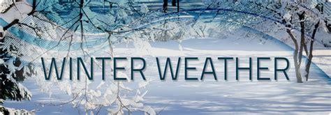 winter weather procedures heritage christian academy