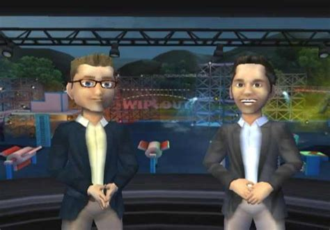 wipeout game john henson anderson pc wii games caricatures speed overview commentators gamespot amazon commentator