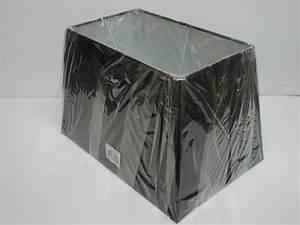 Lampenschirm Schwarz : 13 15 17 schwarz rechteckig tisch lampenschirm ebay ~ Pilothousefishingboats.com Haus und Dekorationen