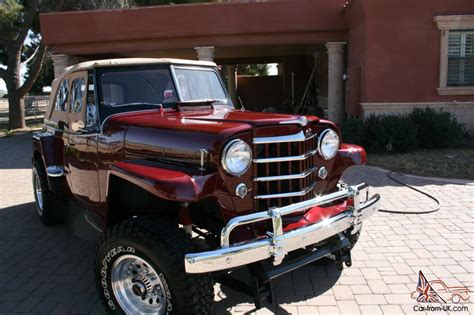 jeep jeepster for sale willys jeepster 1951 professional restoration