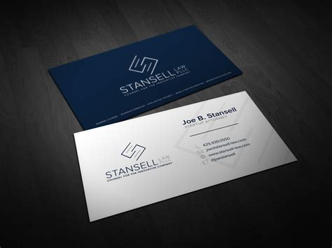 Modern, Elegant Business Card Design For Joe By Ddamian_dd Business Card Design Adobe Letterhead Standards Letters Headings To Customers Examples Layout Names Letter K How Much Charge Images Free