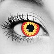 Red Wolf Halloween FX Contact Lenses - Exotic Lenses