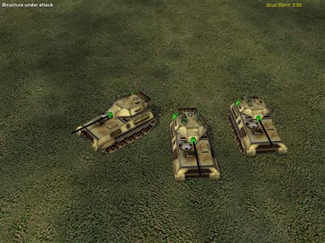 tank stealth scorpion cnc gen zero blast mod generals hour rss report