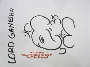 How to Draw- Easy Lord Ganesha Ganpati from OHM Step by ...