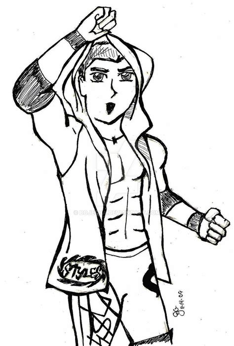 aj styles  coloring pages