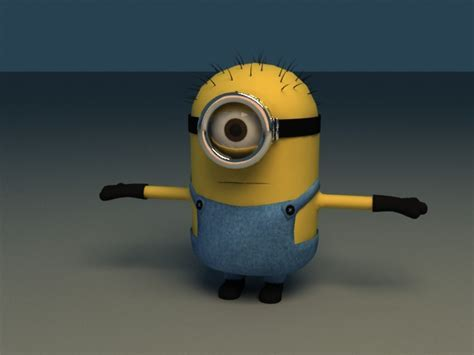 Gru's Minions in Despicable Me   Rigged & Animated 3d