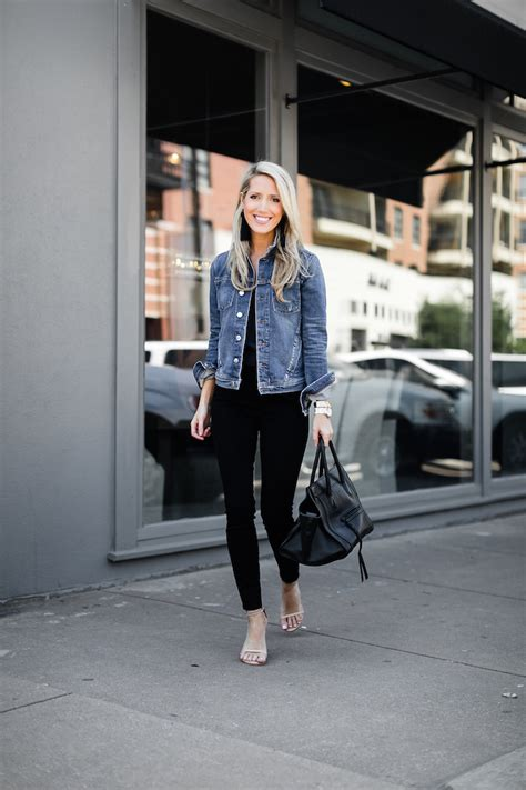 jean jackets   style  denim jacket  black