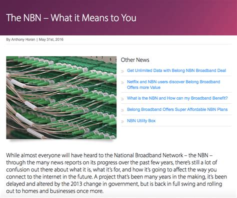 about the national broadband network nbn compare