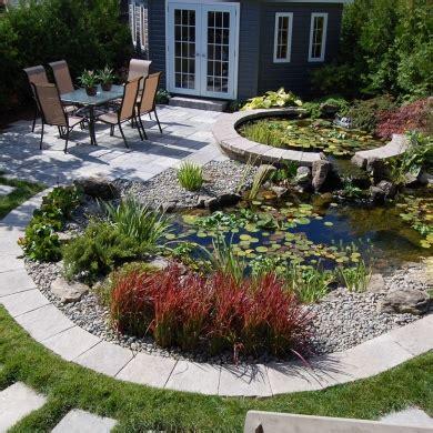bassin d eau circulaire cour inspirations jardinage et ext 233 rieur pratico pratique