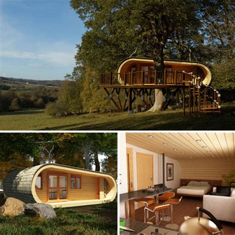 modern contemporary home plans modern tree houses 14 awesome arboreal dwelling designs
