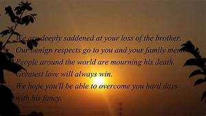 My Condolences Quotes on the loss of father/mother