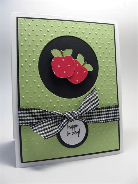 stamping  north  laurie happy birthday cricut card