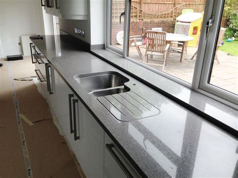 white countertops kitchen stellar grey gris silestone quartz the marble warehouse