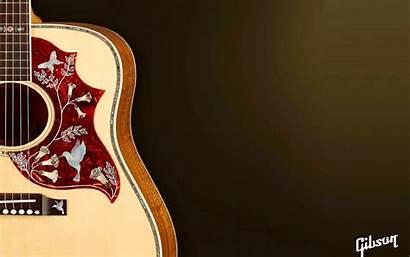 Guitar Acoustic Gibson Wallpapers Wallpapersafari