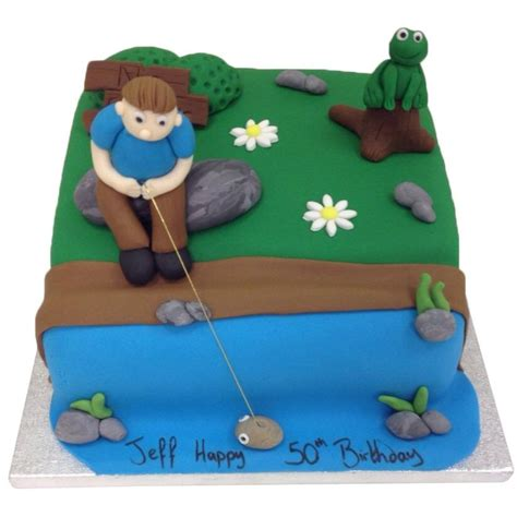 You can make this moment extra special for a friend it can also be a good idea to share friendly anecdotes about things that have happened at work over i have never hosted a retirement party, so i am totally clueless on what activities you do at a party. Fishing Cake - Buy Online, Free UK Delivery - New Cakes