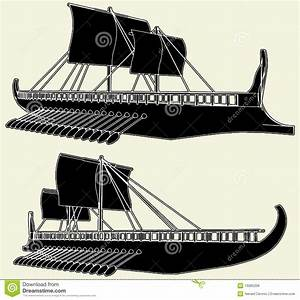 The Ancient Viking Ship Vector 01 Royalty Free Stock ...