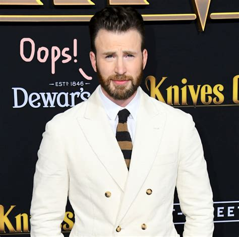 Twitter Goes WILD After Chris Evans Accidentally Leaked A ...