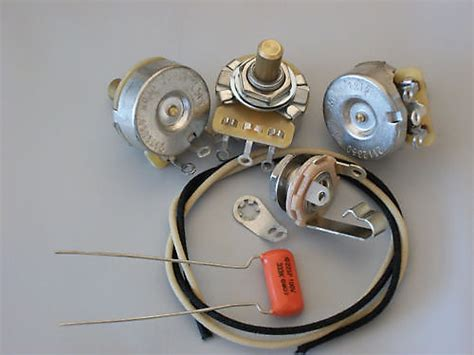 Custom Spec Wiring Harness Upgrade Kit For Jazz Bass Cts
