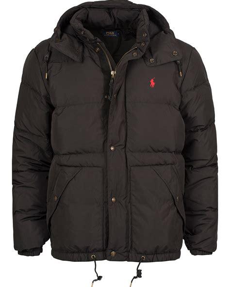 Polo Ralph Lauren Elmwood Down Jacket Polo Black Hos