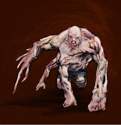 Splinter Warning Paranormal Monster Deformed Supernatural Woodlands