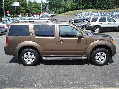purchase used no reserve 2005 nissan pathfinder se 4x4 4 0l v6 auto one owner needs trans in