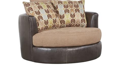 549 99 river bluff beige swivel chair contemporary