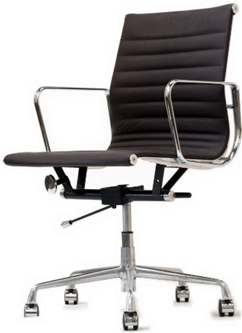 buy cheap modern ribbed mid back office chair