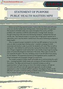 Grad School Essay Examples Our Service Provide Statement Purpose For Public Health