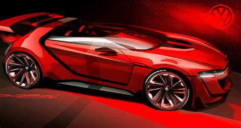 Volkswagen Gti Roadster Vision Gt Concept Unveiled Motor