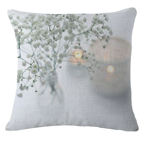 Small Bed Pillows by Small Flower Throw Cushion Cover Sofa Bed Car Decor Pillow