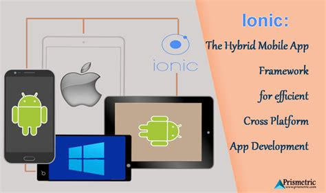 cross platform mobile app development ionic the hybrid mobile app framework for efficient cross