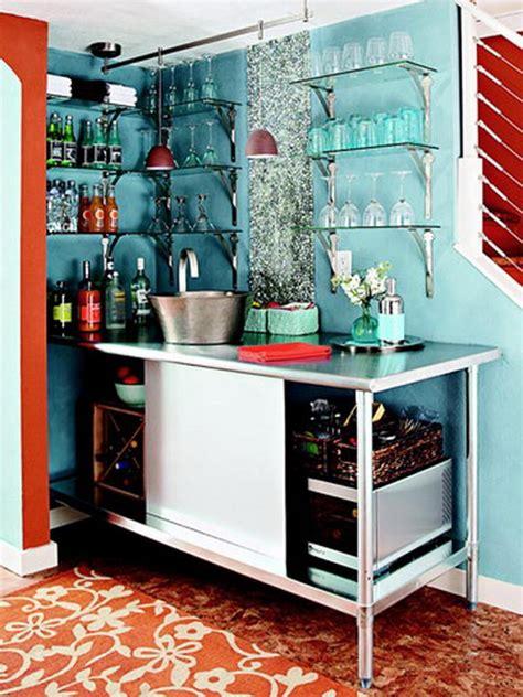 creative basement bar ideas