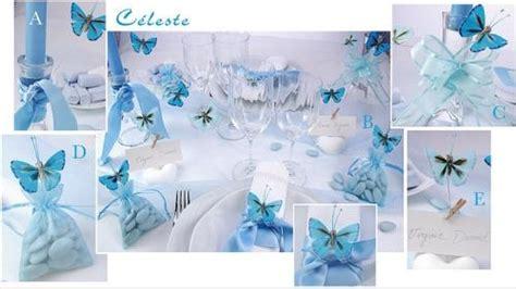 deco mariage blanc et bleu le mariage