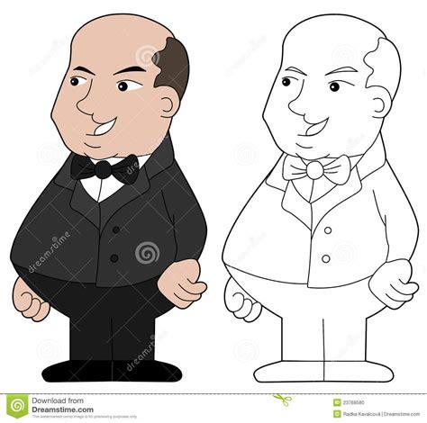 foto de Fat guy cartoon stock vector Illustration of isolated